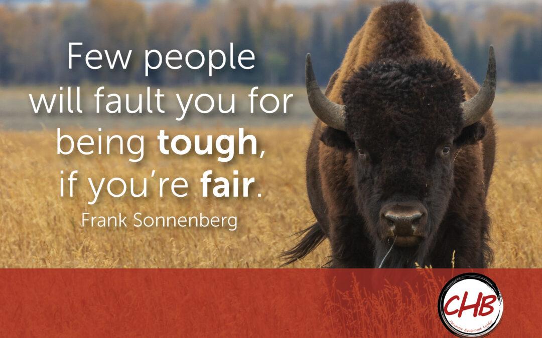 Choose To Be Fair